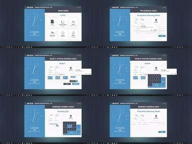 Desktop App UI/UX Design