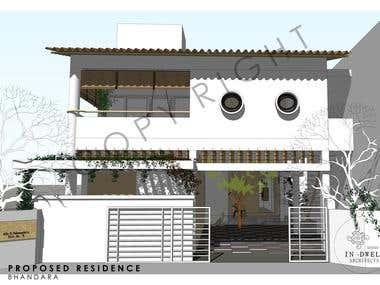 Residence at Bhandara