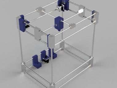 3D printing frame