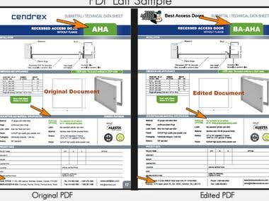 PDF Edit without loosing quality