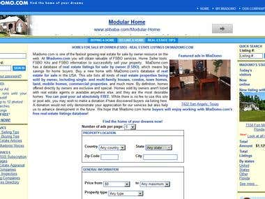 FSBO real estate portal MiaDomo.com