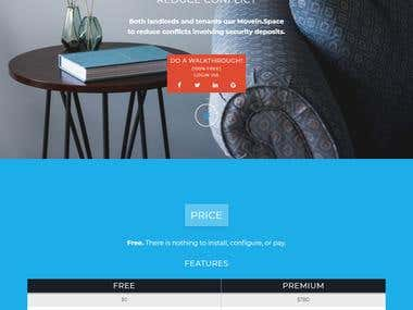 MoveIn.Space WEBSITE [Responsive]