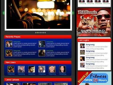 VibeGround Music Site