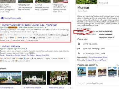 Tripadvisor.in Top 1 Ranking in Google.al