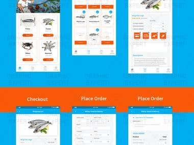 App Screens Design.