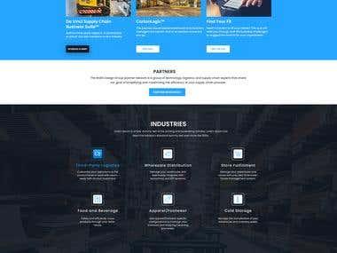 CorPorate Supply Chain Website