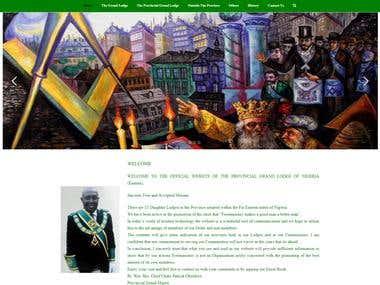 Website For Organization