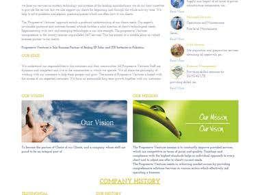 Fully Dynamic Website - Yii