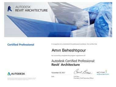 Autodesk Professional Certificated