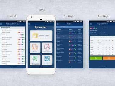 UX Engineering Syncorder APP