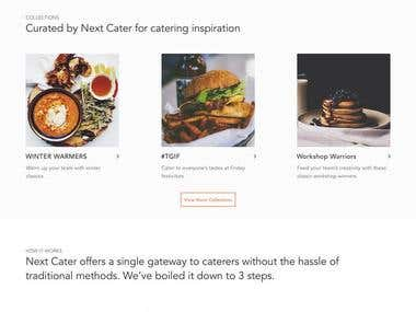 NextCater Online Food Delivery