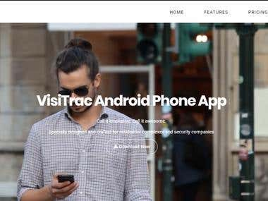 Android portfolio website (http://sarajit.mygamesonline.org)