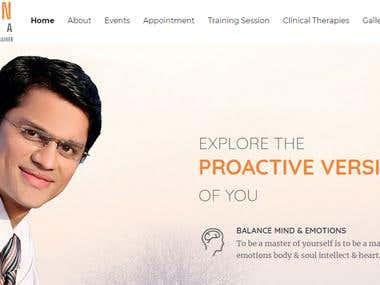 Khanjan Lathia WordPress Website