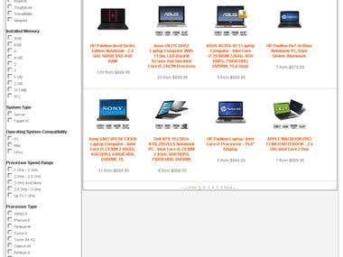 Comparison Site