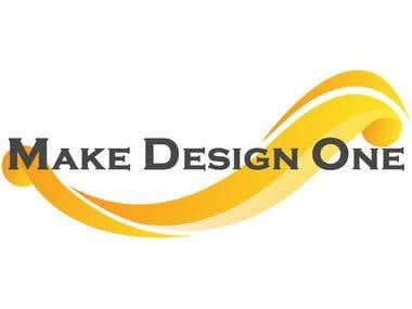 Make Design One Logo