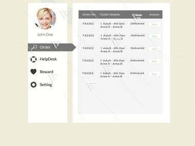 Website Concept Design