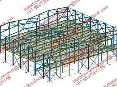 COMPOSITE SLAB PORTAL FRAME BUILDING DESIGN AND FABRICATION