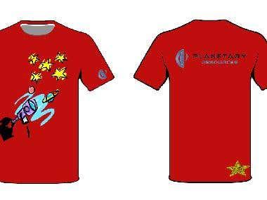 arkyd t-shirt design