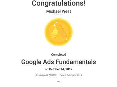 Google Ads Qualification