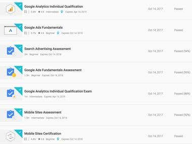 Google Exam Pass Marks / Full Qualification