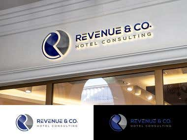 Corporate Business Logo for Hotel Consulting Company