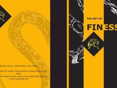 Finesse book cover design