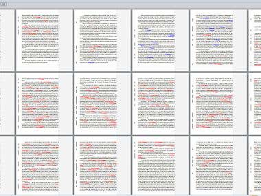 Proof-editing a non-fiction book