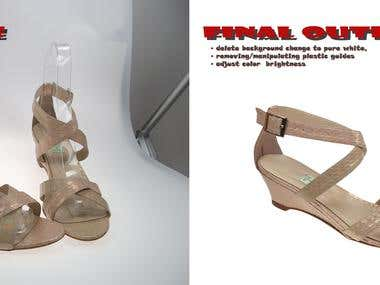 shoe manipulation