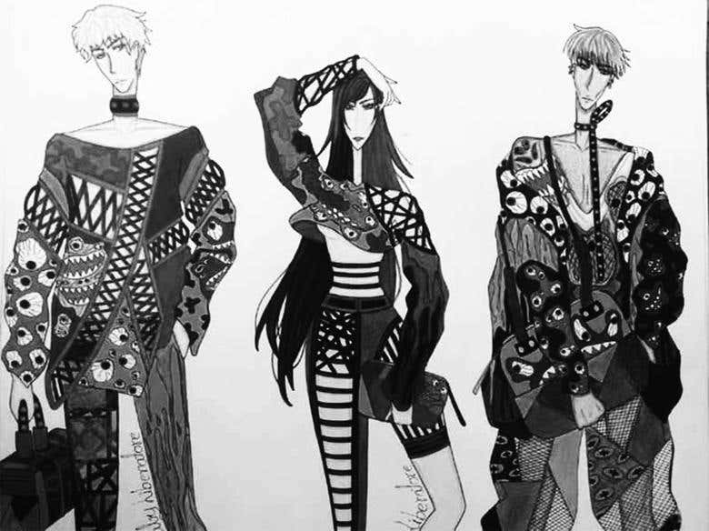 Fashion Illustrations Traditional Freelancer