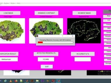 Plant Disease using Matlab