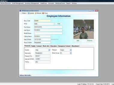 ERP Solution for Human Resource Management