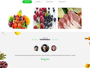 Chefs Corner E-Commerce Food Portal