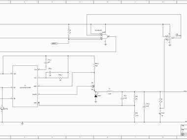 BUCK converter for solar panels