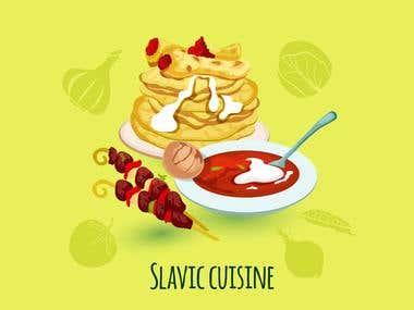 Foods Illustration