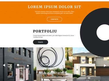 Architectural Deco Website
