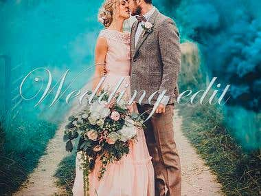 Wedding edit examples