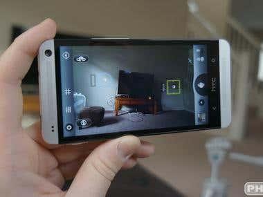 Camera processing App