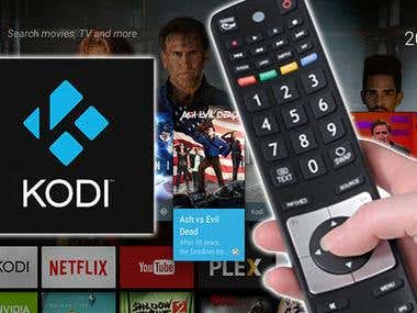 Kodi addon development