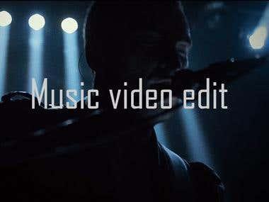 Music video edit