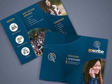 ZO Trifold Brochure
