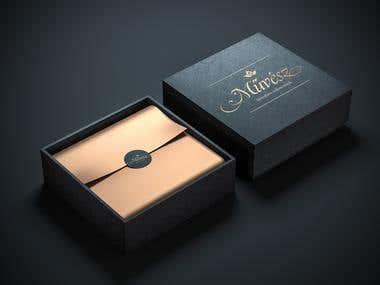 Luxury chocolate logo design