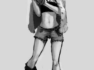 Painting illustration
