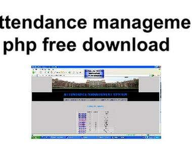 Attendance management System using Image processing
