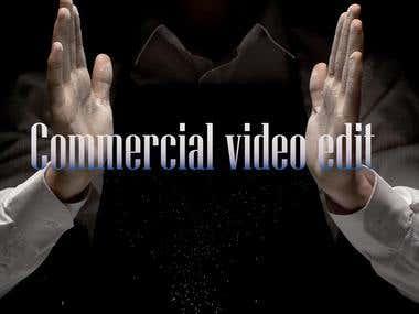 Commercial Video edit