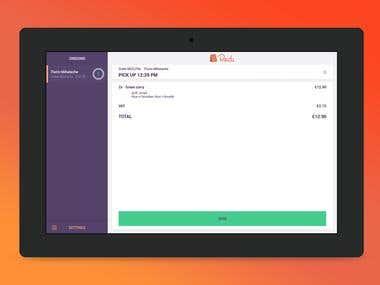 Redi - restaurant tablet app