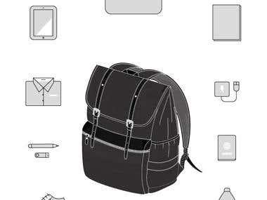 Ilustración de producto / Product illustration