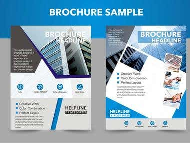 Eye Caching Brochure Design