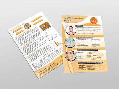 ShineShield A4 Brochure