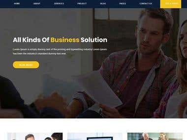 Consult Experts – Business Consulting HTML Template