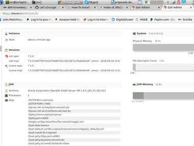 Configuring Apache solr with SSL
